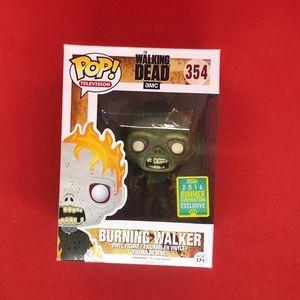 #354 Funko Pop! Burning Walker 2016 Summer Convent